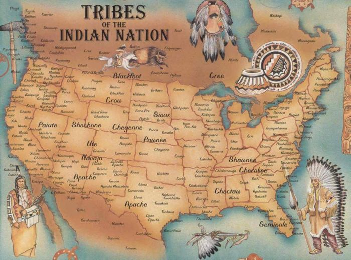 indian nation - native americans
